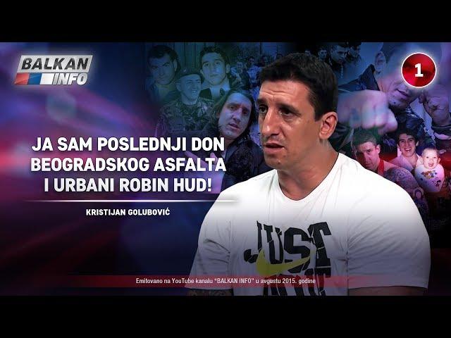 INTERVJU: Kristijan Golubović – Poslednji don beogradskog asfalta i urbani Robin Hud (24.08.2015)