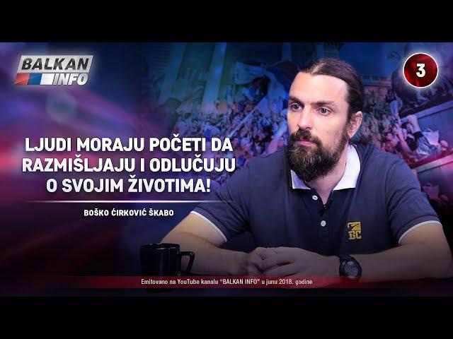 INTERVJU: Škabo – Ljudi moraju početi da razmišljaju i odlučuju o svojim životima! (25.06.2018)